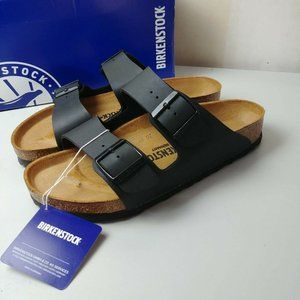 NWT Birkenstock Arizona Birko Flor Sandals Germany